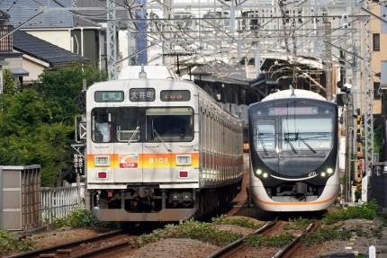 大井町線9000系と6020系