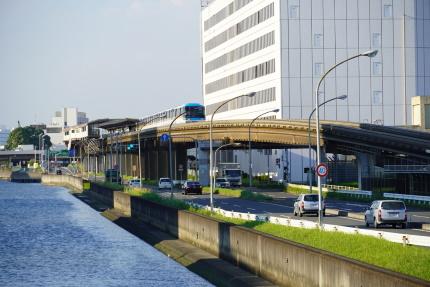 東京モノレール整備場駅