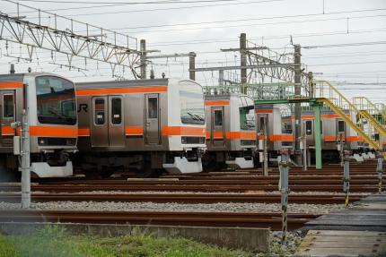 JR武蔵野線 東所沢電車区