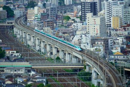 王子北トピアから新幹線