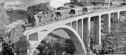 昔のアーチ橋