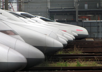 大井新幹線車庫