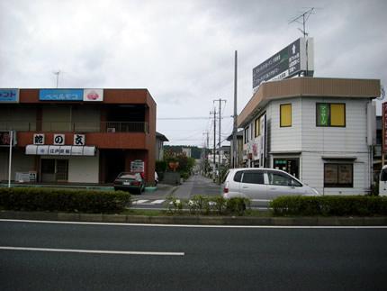 九十九里鉄道跡道路