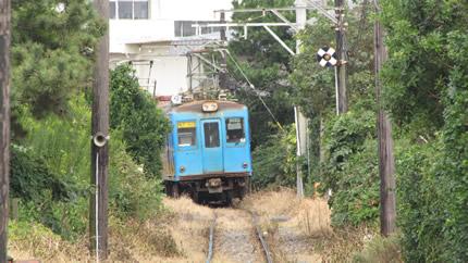 銚子電鉄1001