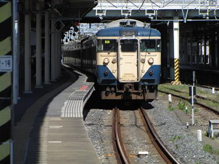 木更津駅113系