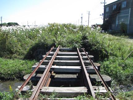 引き込み線の橋