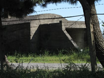 自衛隊駐屯地内の遺構
