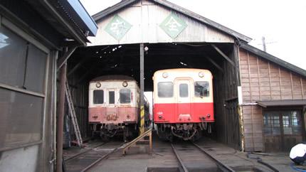 小湊鉄道車庫2