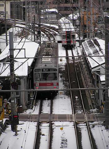 池上線・石川台駅