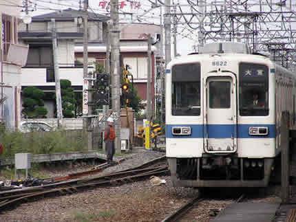 東武野田線岩槻駅