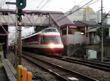 小田急ロマンスカー10000形(HiSE)