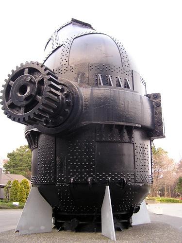 初期の製鉄炉